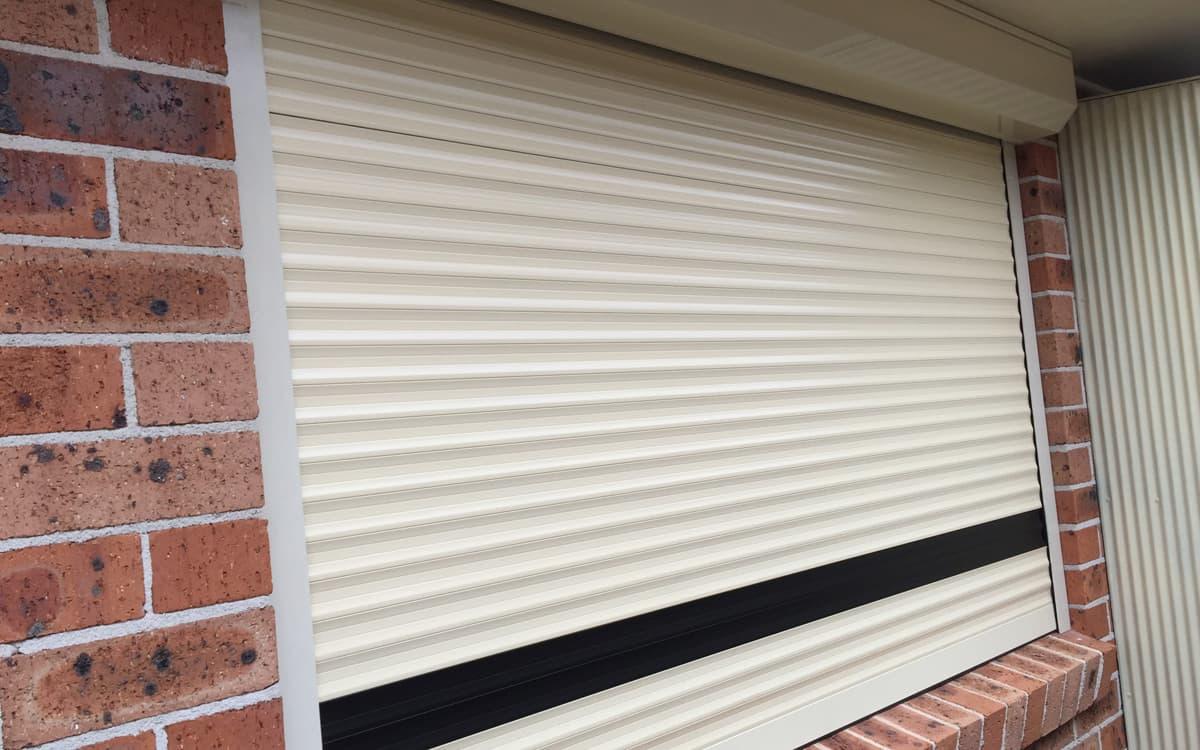 roller shutters installation