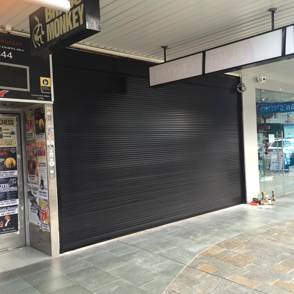 ROLLER SHUTTERS FOR SHOP FRONTS
